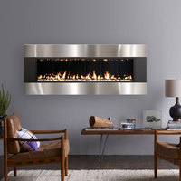 Solas forty6 wall mounted direct vent fireplace combo 1